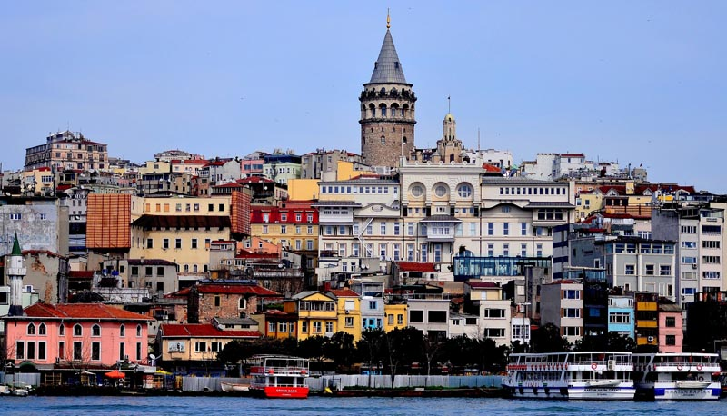 Istanbul cruise view